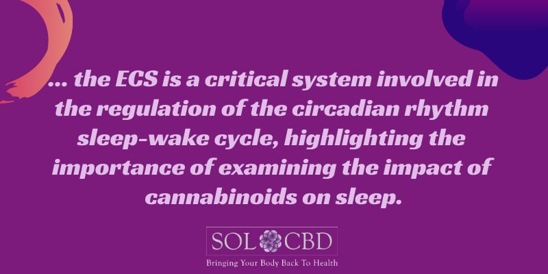 Part of the way CBD can improve sleep quality is through anxiety-reducing impacts.