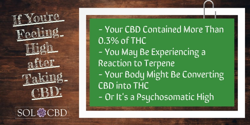 Are You Feeling High after Taking CBD?