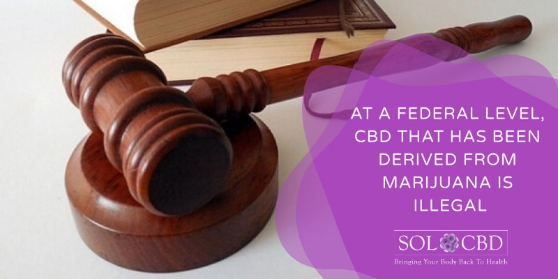 What about the Legality of CBD Sourced from Marijuana?