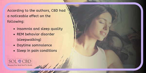 What Science Says about CBD Sleep Benefits