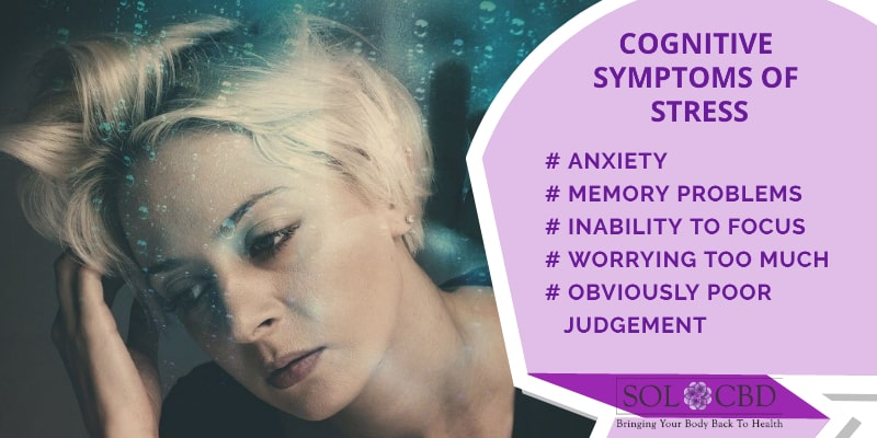 Cognitive symptoms of stress