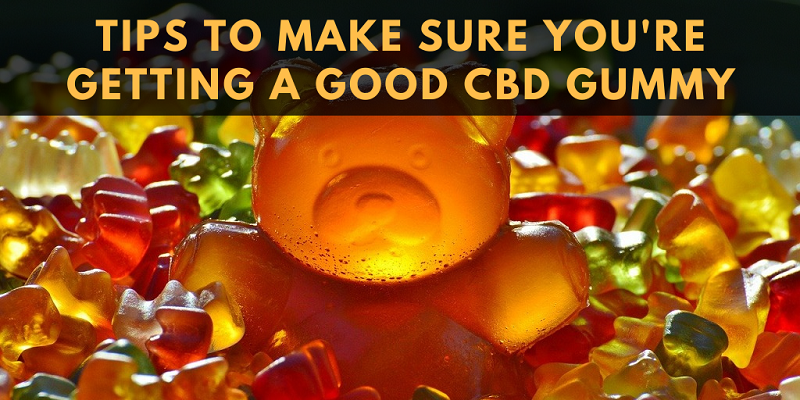 Here's a checklist for when you're shopping for CBD edibles.