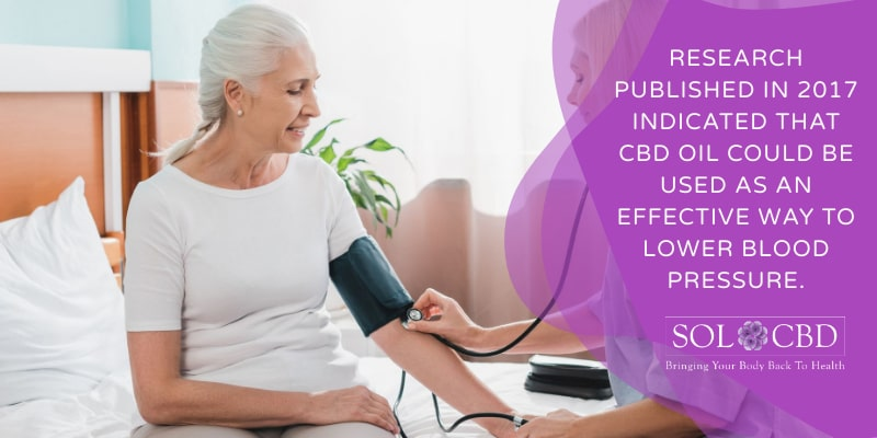 Research published in 2017 indicated that CBD oil could be used as an effective way to lower blood pressure.