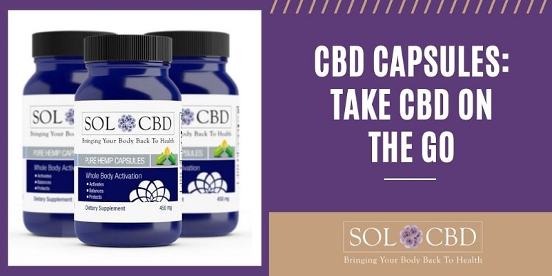 CBD capsules deliver consistent doses allowing you to manage exactly how much CBD you are taking in.