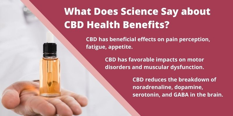 What Does Science Say about CBD Health Benefits?