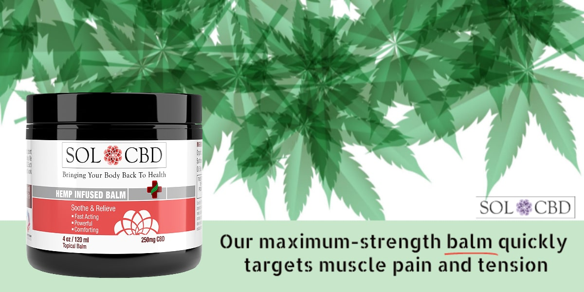 Our maximum-strength CBD balm quickly targets muscle pain and tension.