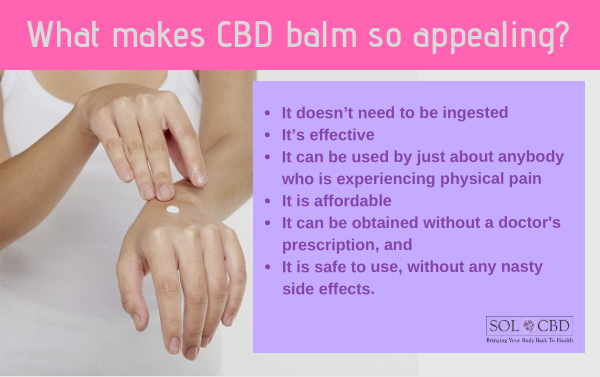 What makes CBD balm so appealing?
