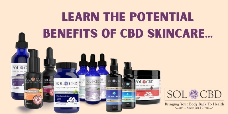The potential benefits of CBD skin care