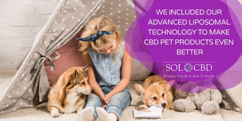 We included our advanced Liposomal technology to make CBD pet products even better.