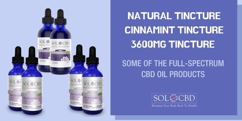 Full-spectrum CBD oil products are said to contain everything that the hemp flower contains.