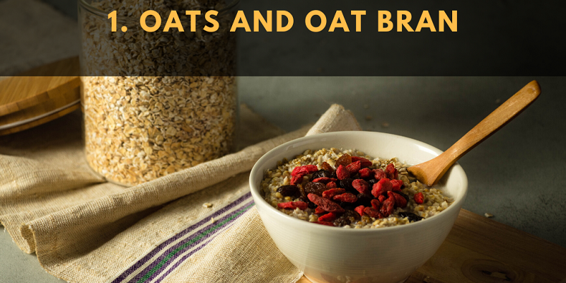 Oats and oat bran are some of the oldest, best-known ways to lower cholesterol.