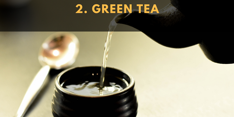 Research shows that green tea has moderate to significant cholesterol-lowering effects.