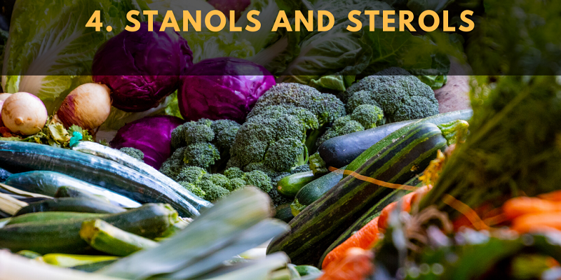 The cholesterol-lowering properties of stanols and sterols are well-documented.