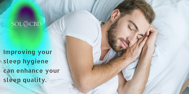 Create a bedtime routine that improves your sleep hygiene.
