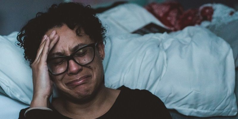 Menopausal women sometimes find that they don't sleep as well as they used to.