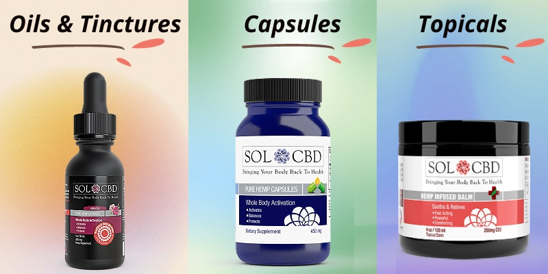 There is a multitude of different options on the market when it comes to CBD products.