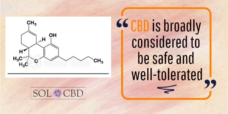 CBD is broadly considered to be safe and well-tolerated.
