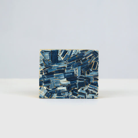 Objects of Love Artwork #1: Wooden Block by Indigo 11.50