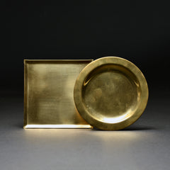 Color of abundance #9: Brass plate