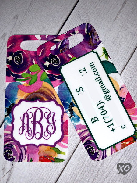 Luggage Tag - Double Sided