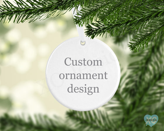 Create your Own Ornament  - Round