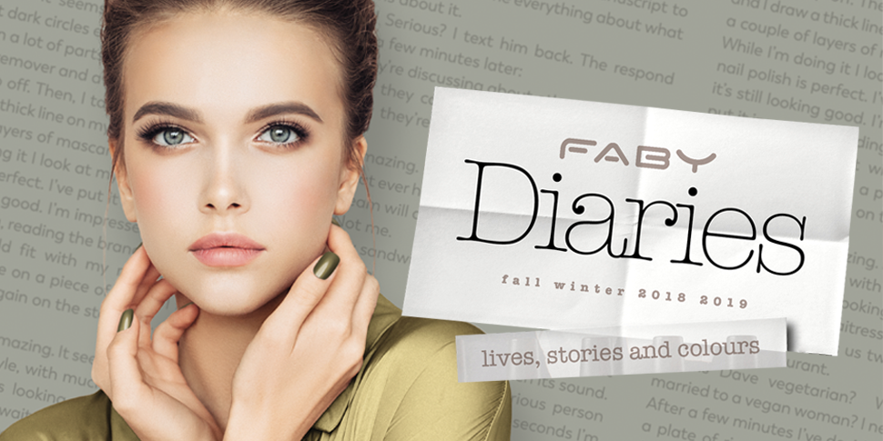 Faby Nail Lacquers Diaries Collection