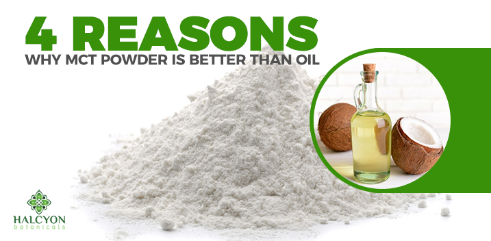 MCT Powder Vs. MCT Oil: What You Need To Know