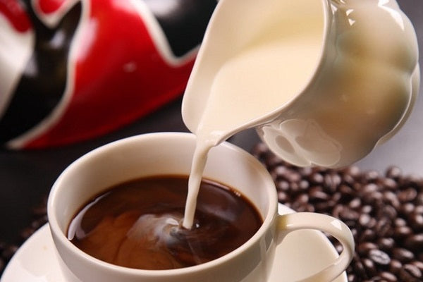 Does Milk Block Antioxidants? Source a quality non-dairy creamer.