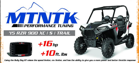 15-Current RZR 900 Trail|XC|S Performance Tune