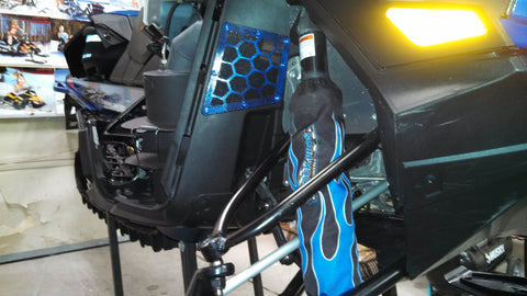 Ski-Doo XM Honeycomb Shock Tower Vent
