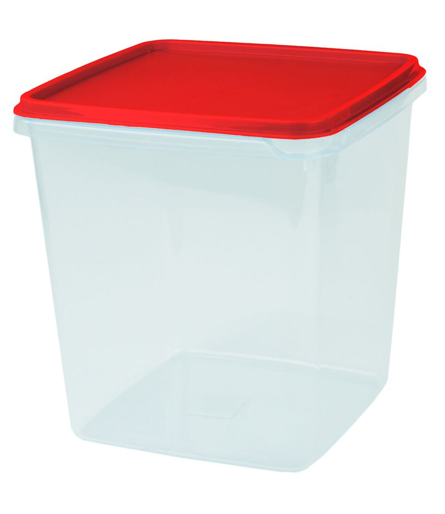 Prepping storers - 184 x 184 x 194mm - Red lid