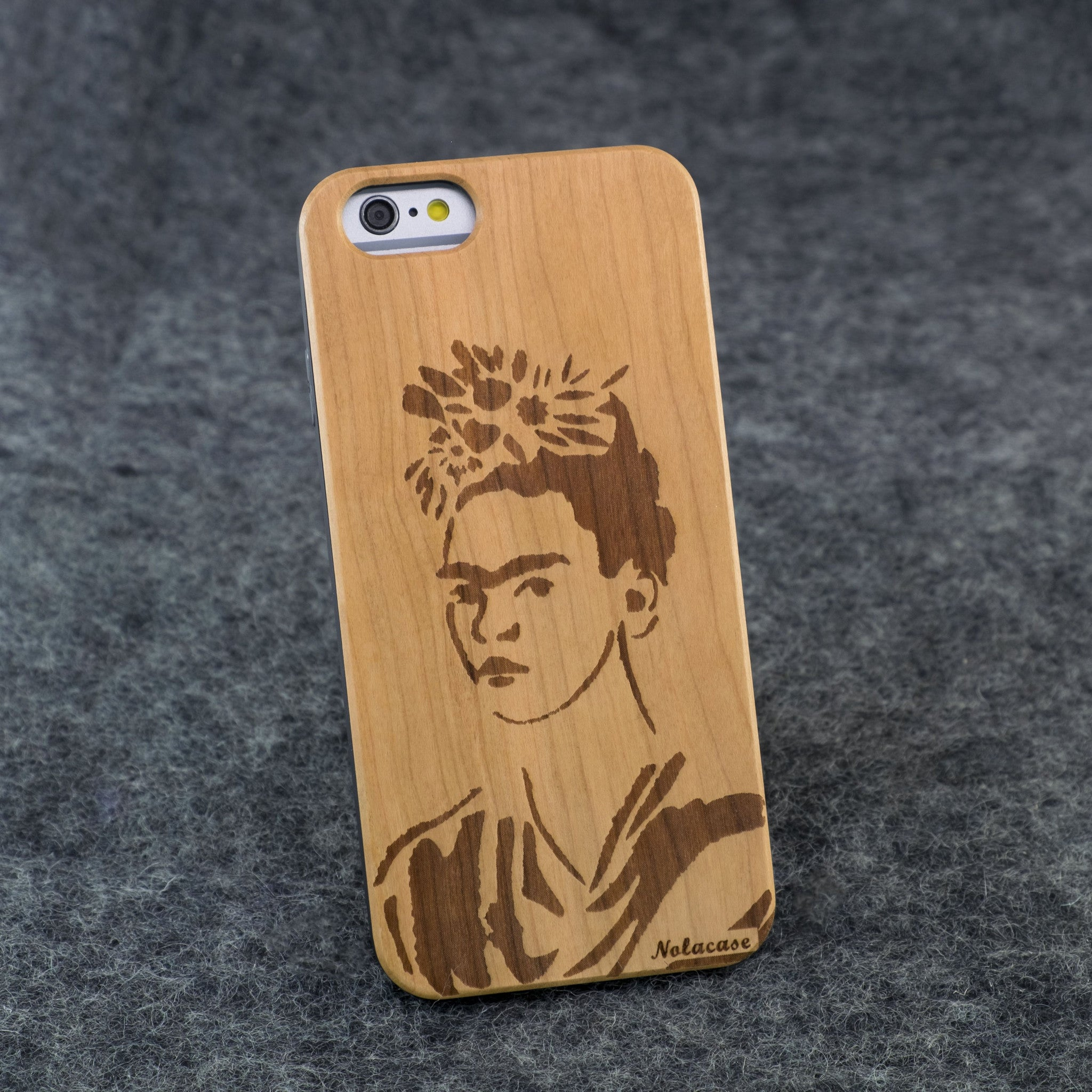 iPhone 6 / 6S Frida Kahlo Slim Wood Case - NOLACASE