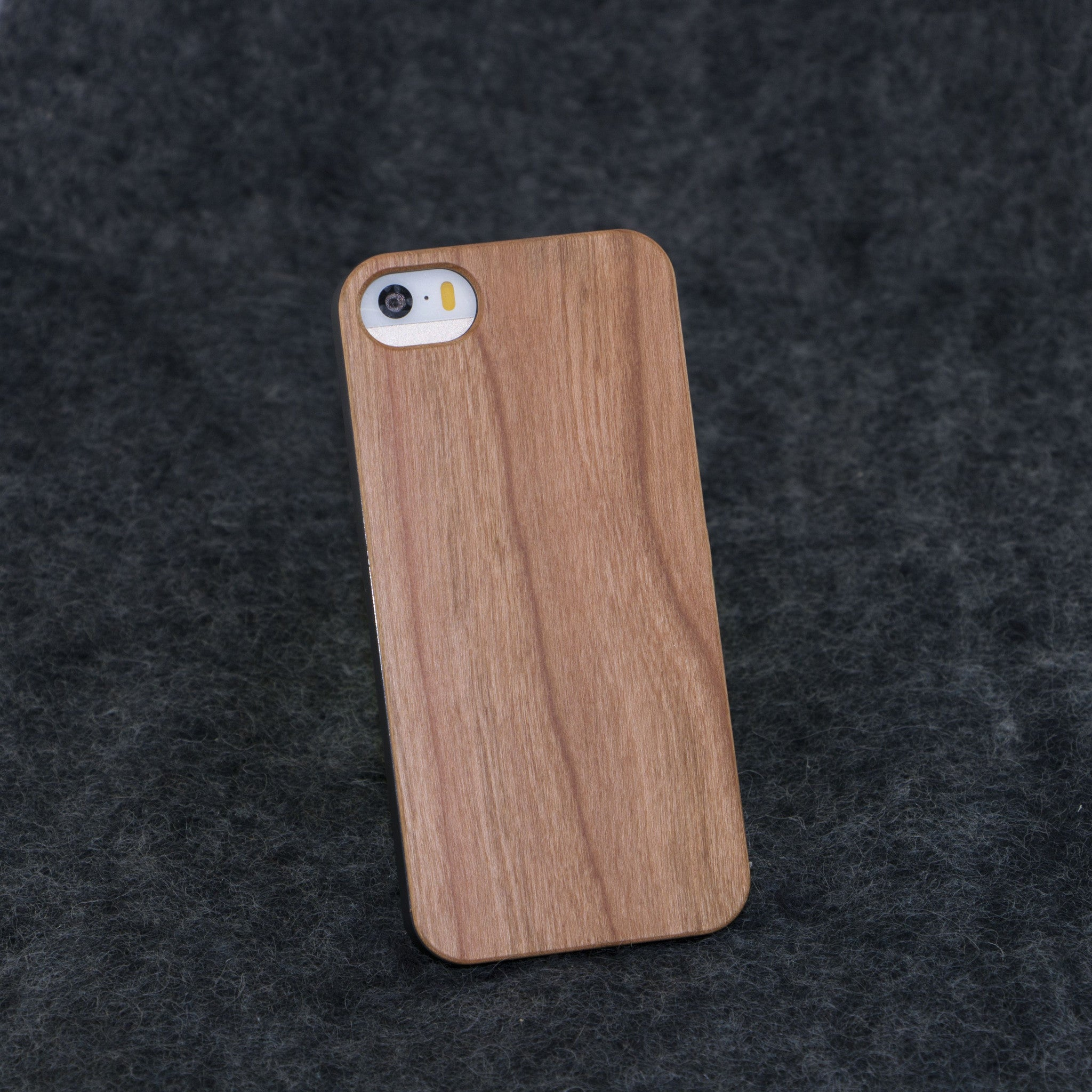 iPhone 5 / 5S Blank Slim Wood Case - NOLACASE