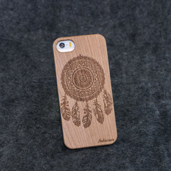 iPhone 5 / 5S Dream Catcher Slim Wood Case - NOLACASE
