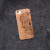 iPhone 5 / 5S Skull Christ Slim Wood Case - NOLACASE