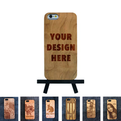 iPhone 6 / 6S Custom Slim Wood Case - NOLACASE - 1