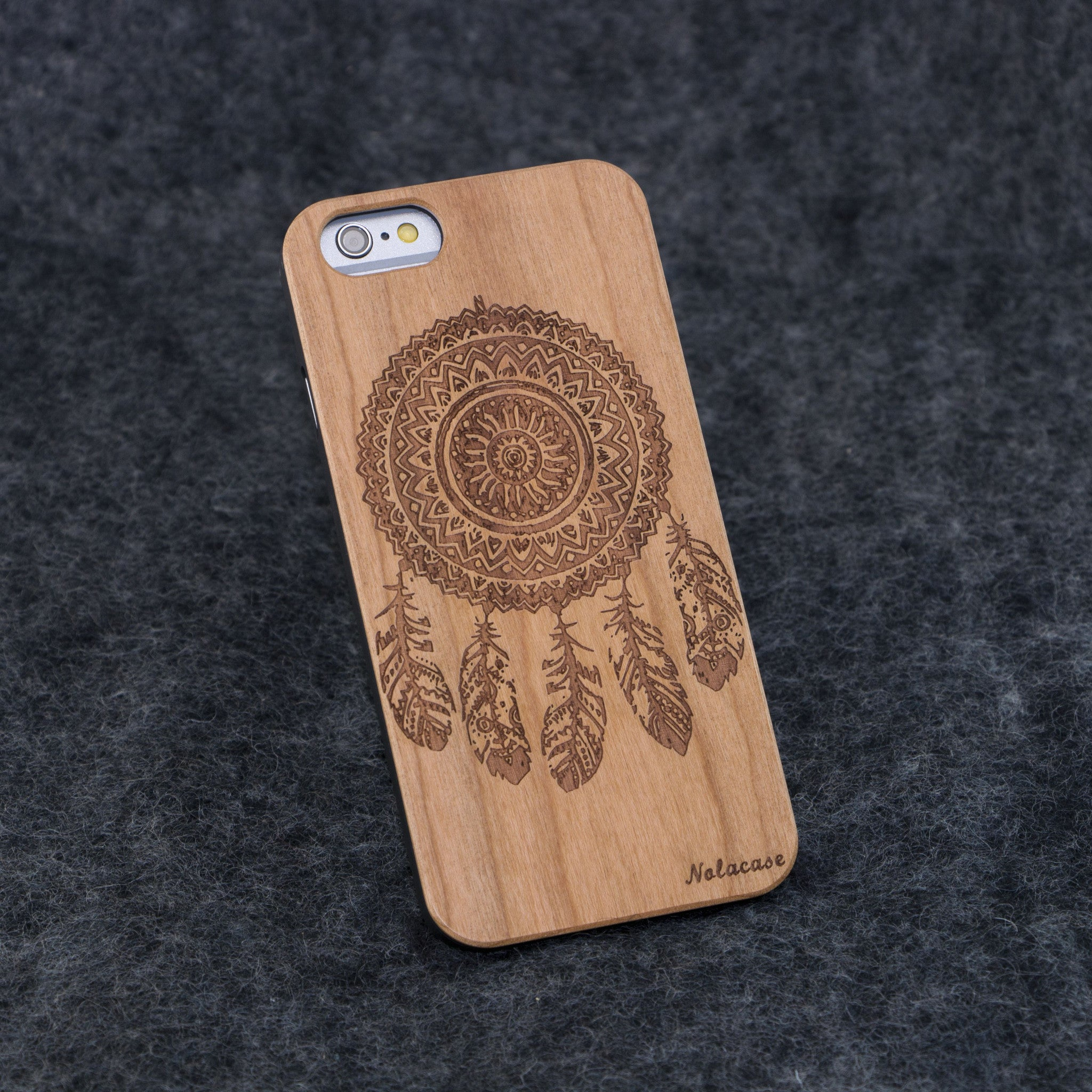 iPhone 6 / 6S Dream Catcher Slim Wood Case - NOLACASE