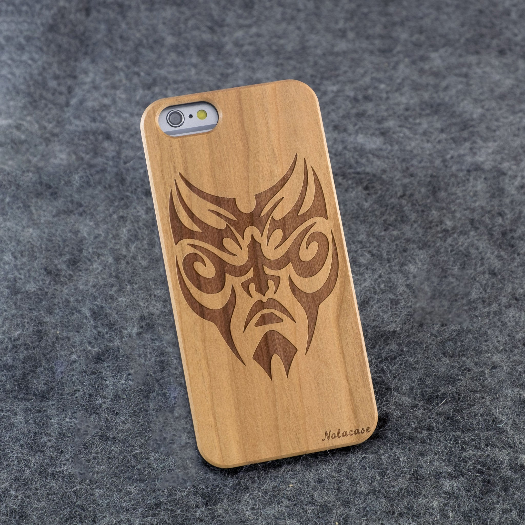 iPhone 6 / 6S Wolverine Slim Wood Case - NOLACASE