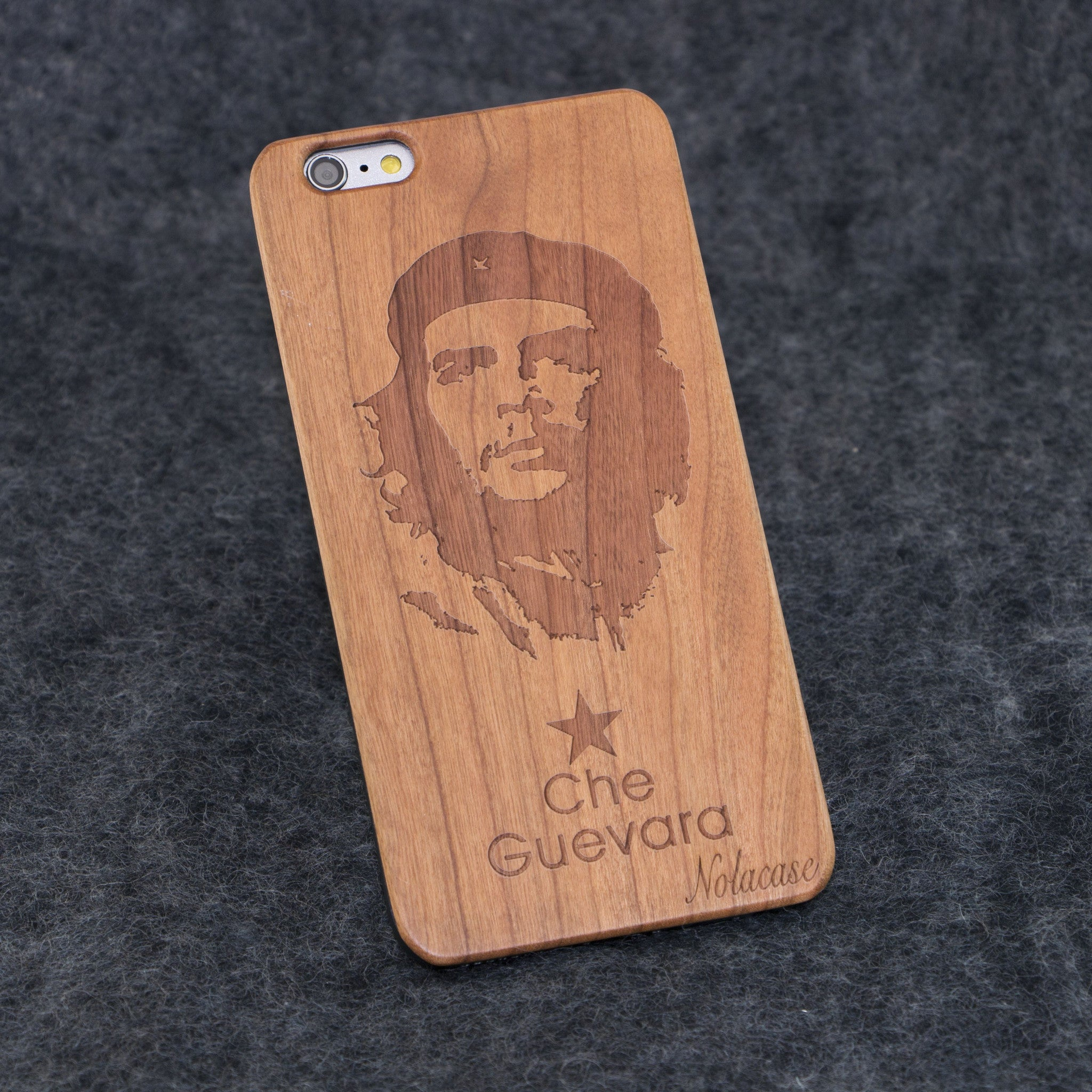 iPhone 6+ / 6S+ Che Guevara Slim Wood Case - NOLACASE - 1