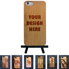 iPhone 6+ / 6S+ Plus Custom Slim Wood Case - NOLACASE - 1