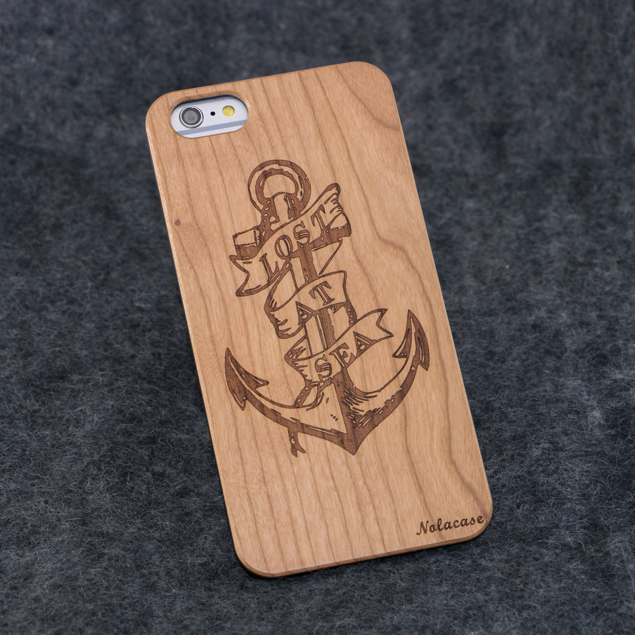 iPhone 6+ Lost at Sea Slim Wood Case - NOLACASE