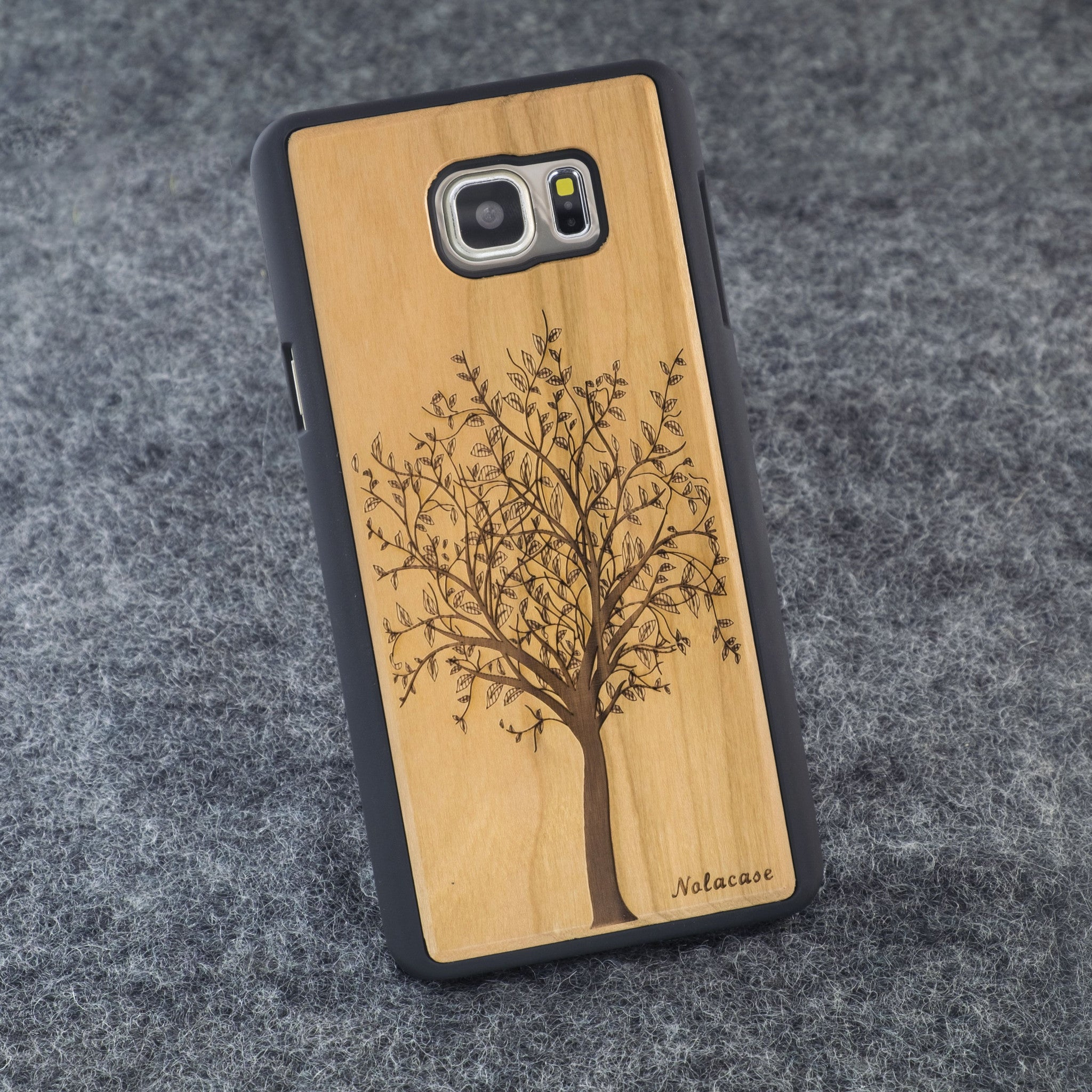 Samsung Note 5 Tree Slim Wood Case - NOLACASE