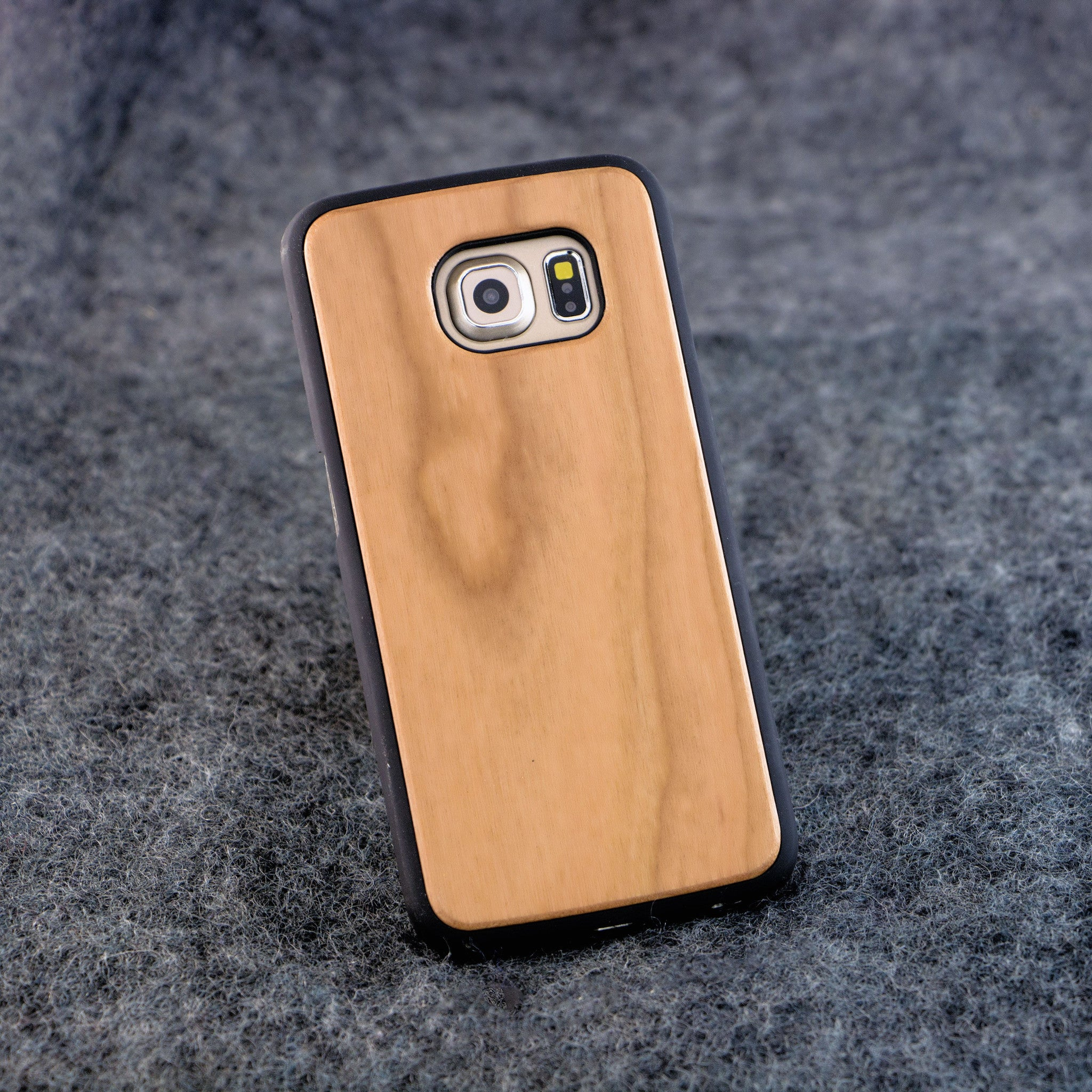 Samsung S6 Edge Blank Slim Wood Case - NOLACASE