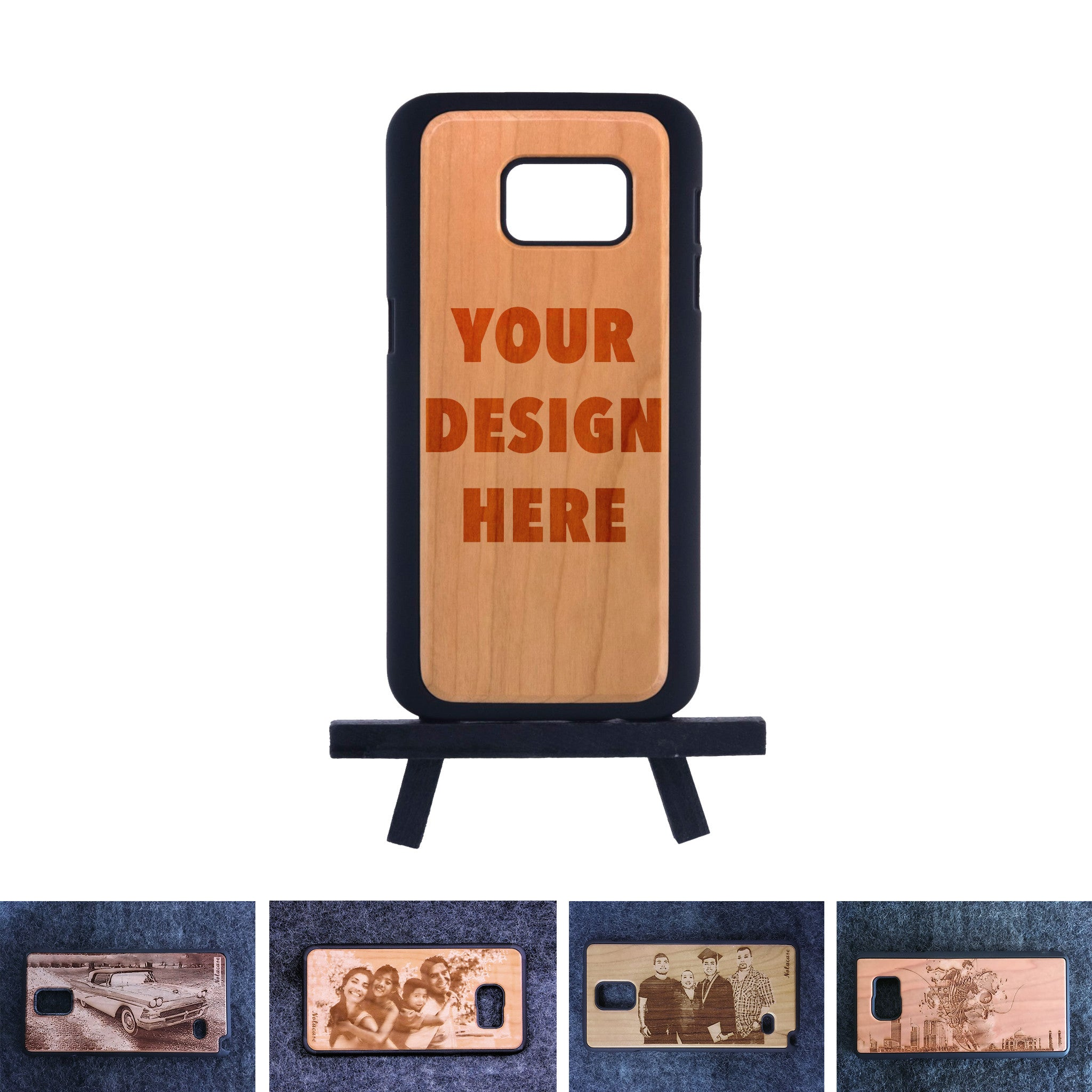 Samsung S7 Custom Slim Wood Case - NOLACASE - 1