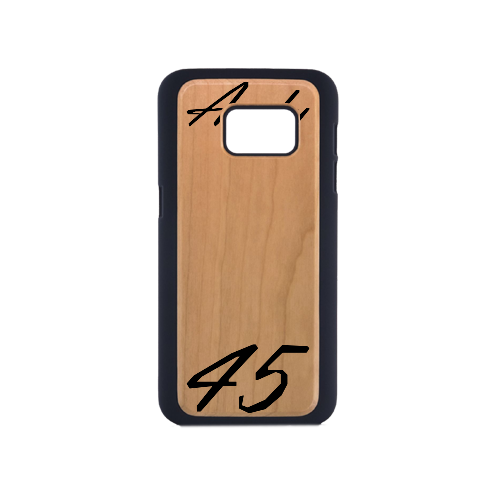 Samsung Galaxy S7 Customized Wood Case