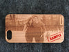 iPhone 5 / 5S Custom Slim Wood Case - NOLACASE - 11