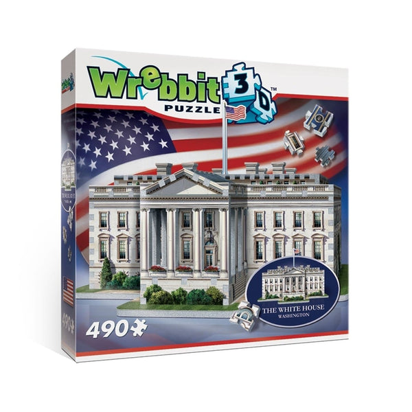 3D Puzle, 490 - White House