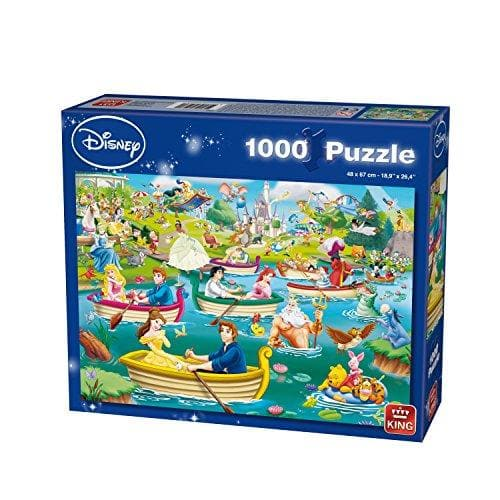 Puzzle Disney 1000 pcs Fun on the Water