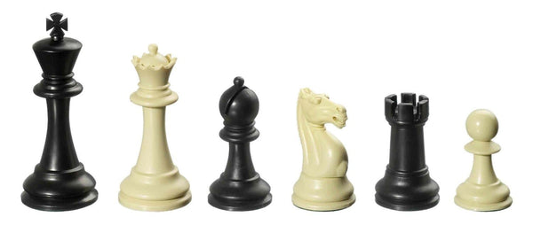 Nerva, KH 95 mm, plastic chess pieces, weighted
