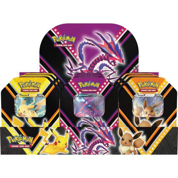 Pokemon TCG - V Powers Fall '20 Tin
